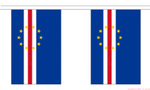 CAPE VERDE BUNTING - 3 METRES 10 FLAGS